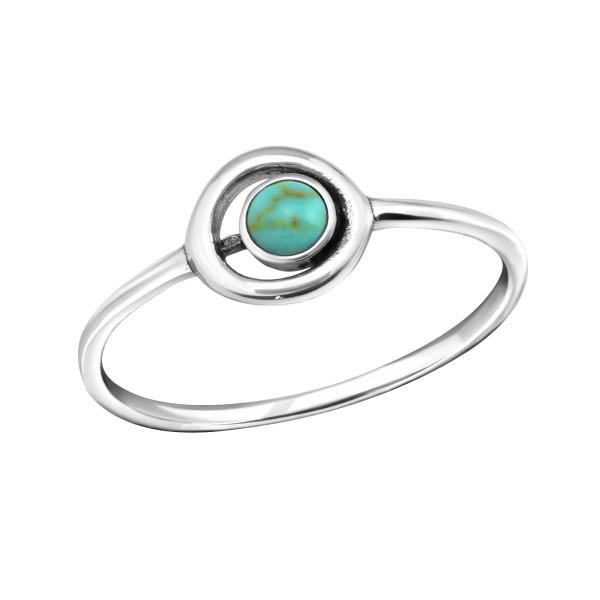 Jeweled Ring RG-JB8596-SHELL TQ/30629