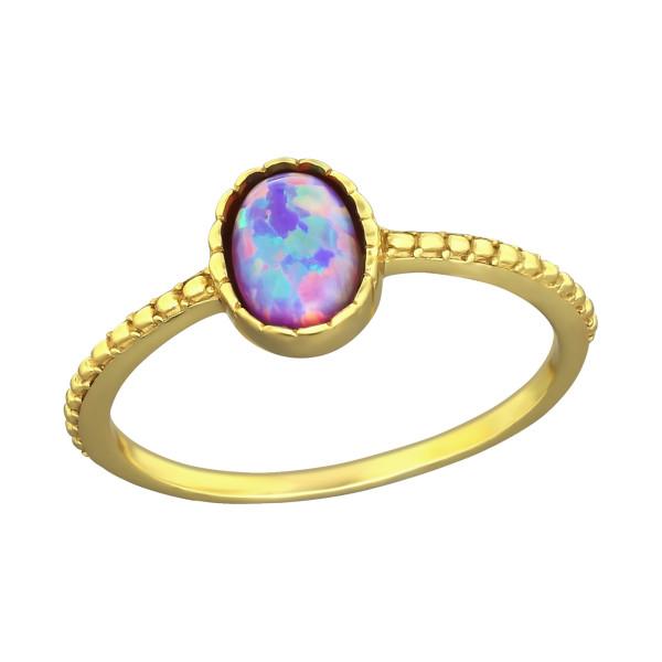 Jeweled Ring RG-JB8600-GP MULTI  LAV/36336