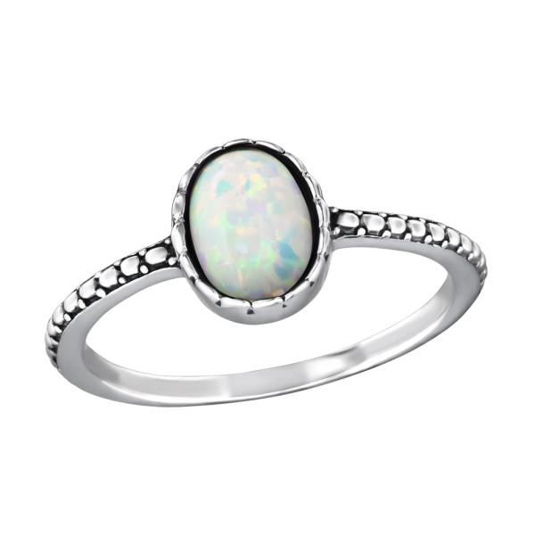 Jeweled Ring RG-JB8600-OX FIRE SNOW/37505