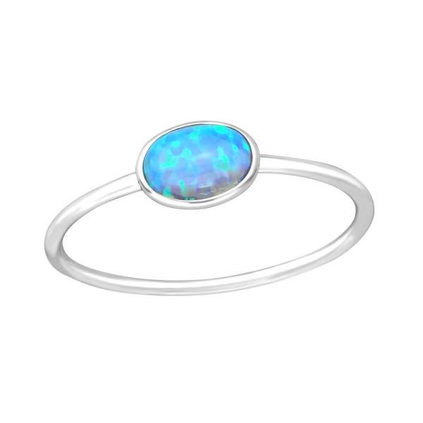Jeweled Ring RG-JB8738 AZURE/36877