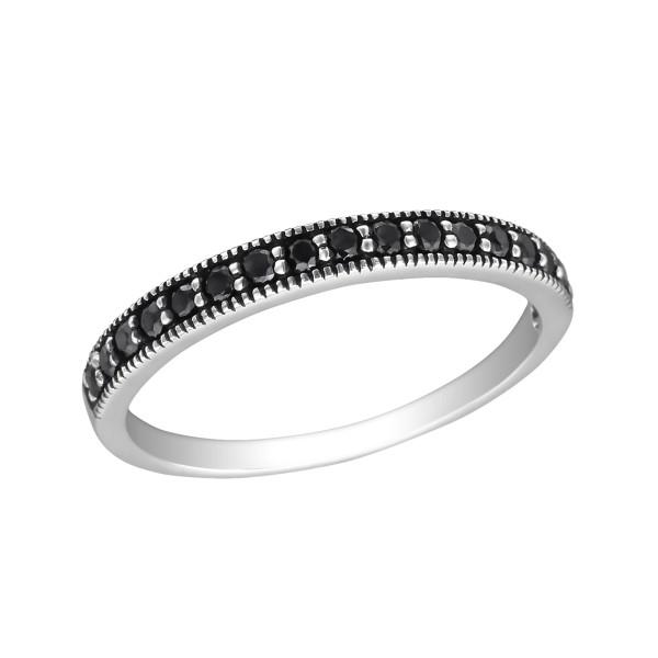 Jeweled Ring RG-JB8977 OX BK.SPN/30143