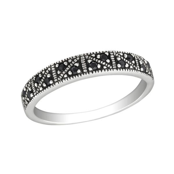 Jeweled Ring RG-JB8979 OX BK.SPN/30145