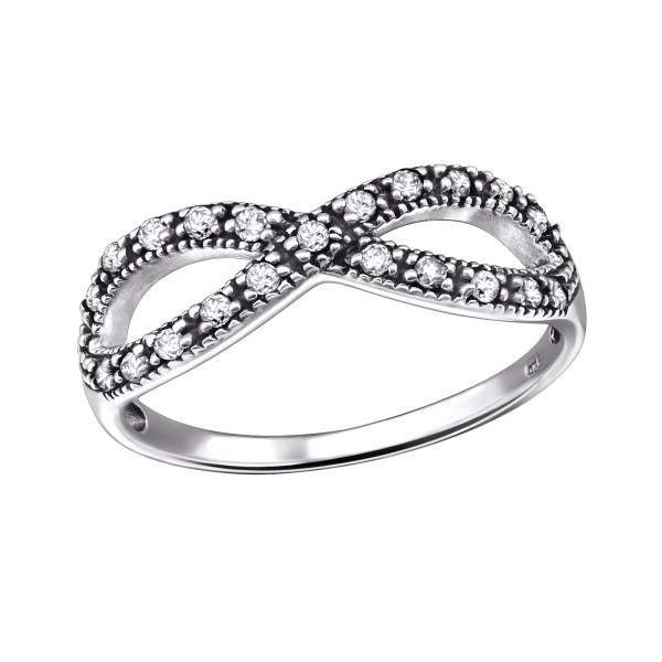 Jeweled Ring RG-JB9360 OX CRY/31583