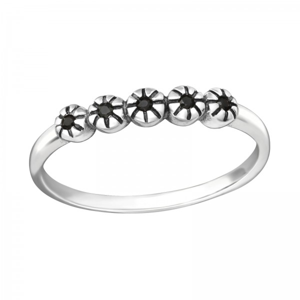 Jeweled Ring RG-JB9362-OX BK.SPN/35455