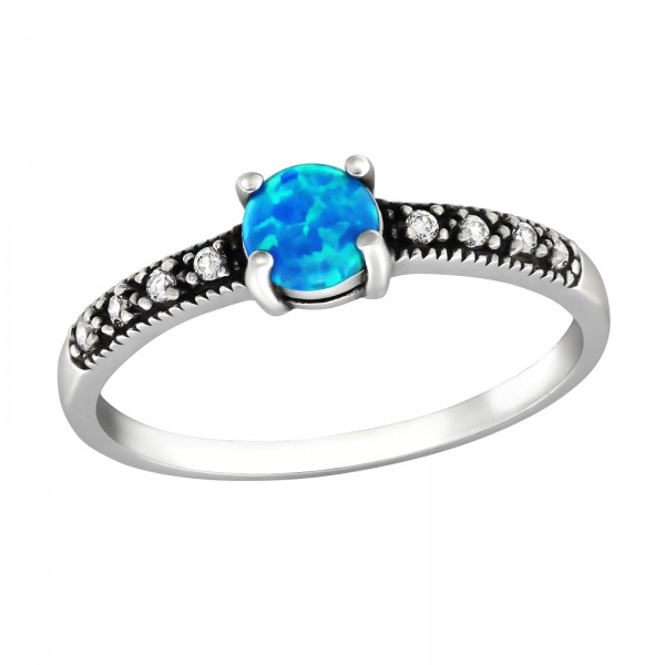 Jeweled Ring RG-JB9363-OX PACIFIC.BL/CRY/32312