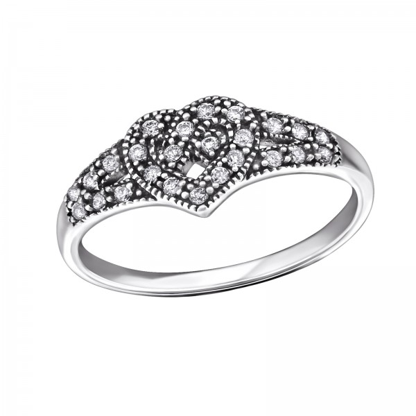 Jeweled Ring RG-JB9397 OX CRY/31588