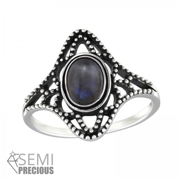 Jeweled Ring RG-JB9584-S-OX LAB/32326