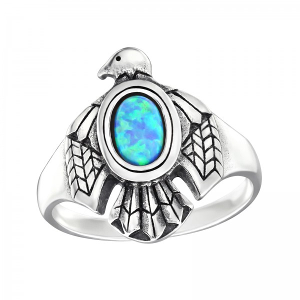 Jeweled Ring RG-JB9587-OX AZURE/32330