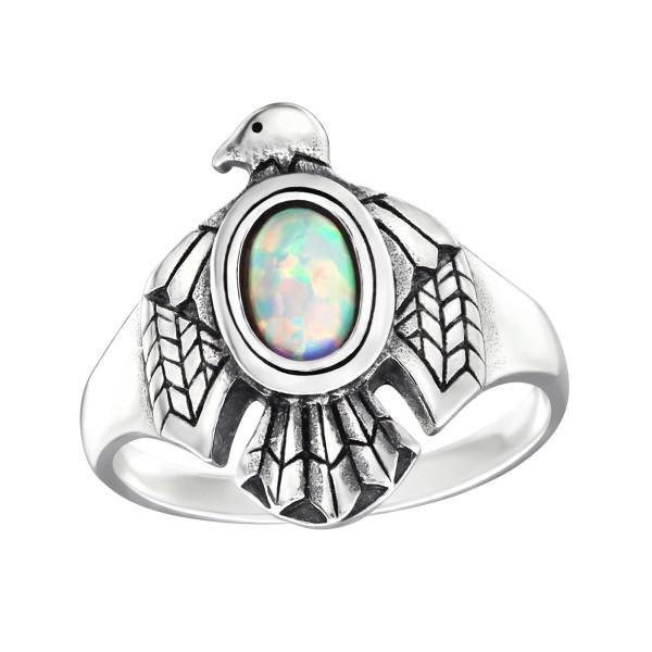 Jeweled Ring RG-JB9587-OX FIRE SNOW/32329