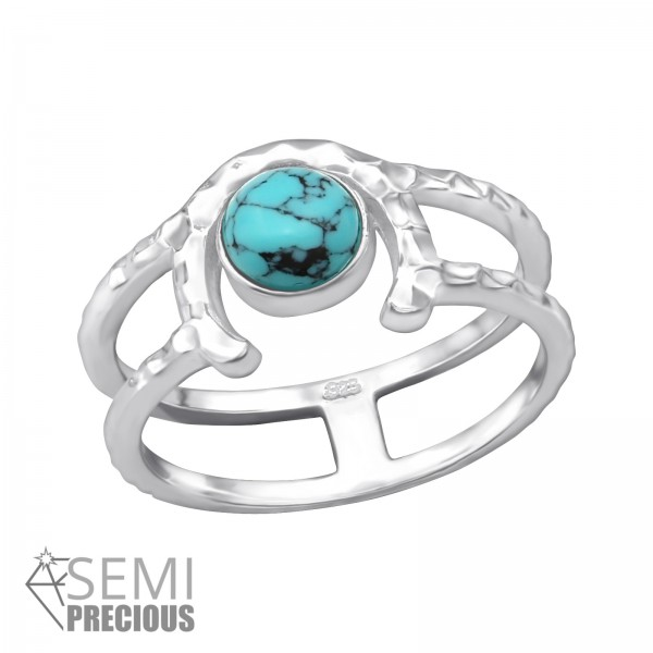 Jeweled Ring RG-JB9663-S TQ/35075