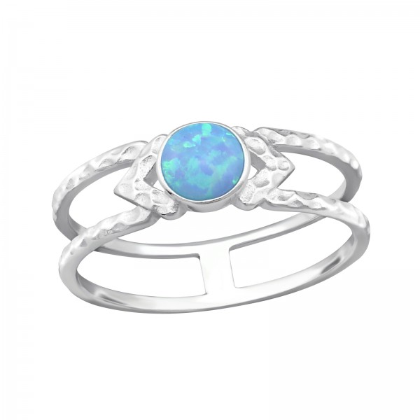 Jeweled Ring RG-JB9681 AZURE/32344