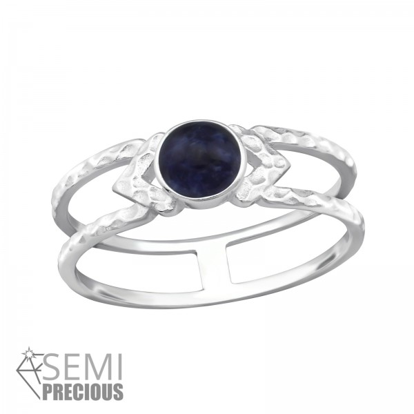 Jeweled Ring RG-JB9681-S SODALITE/32346