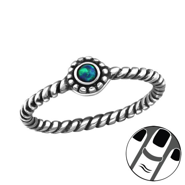 Midi Ring MRG-JB7375-OX PEACOCK/33320