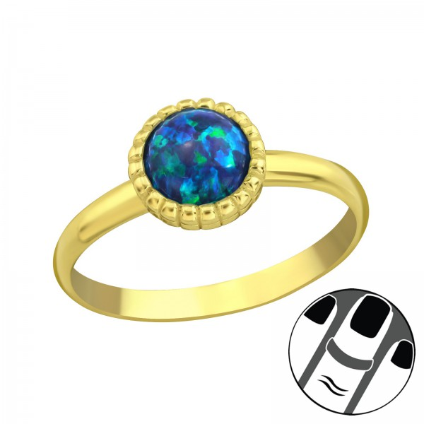 Midi Ring MRG-JB7547-GP PEACOCK/23596