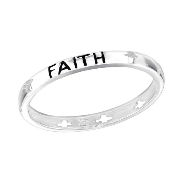 Plain Ring RG-JB1004 FAITH/3857