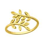 Silver Olive Leaf Ring, #41651
