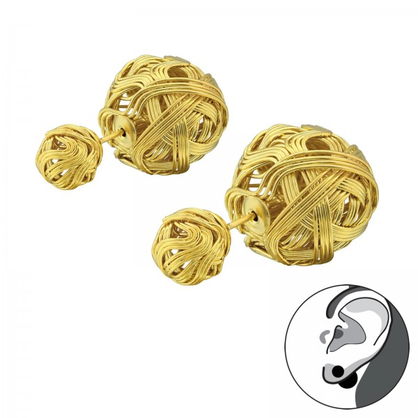 Ear Studs SES-754-GD/34272