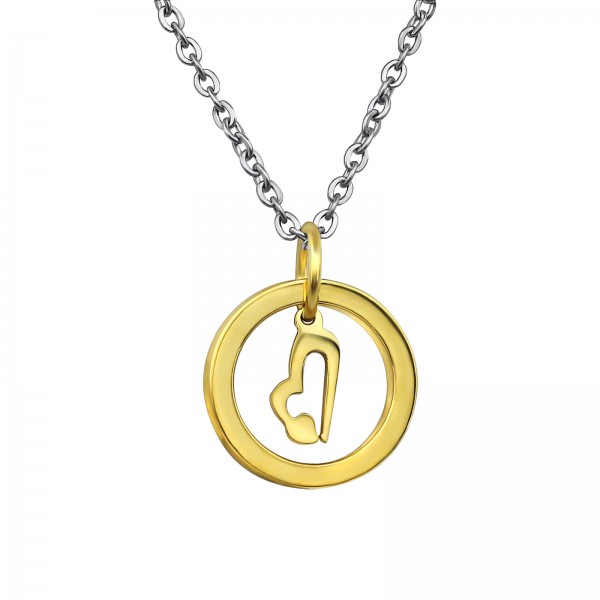 Necklace SNK-641-GD/30006