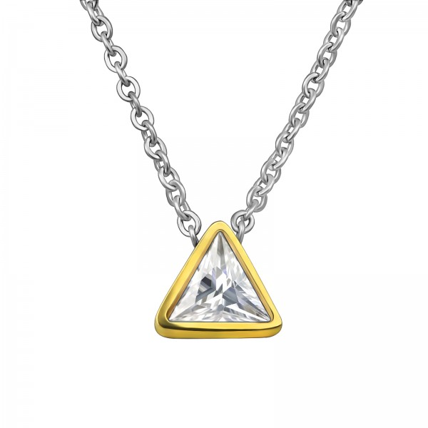 Necklace SNK-704-GD/30196