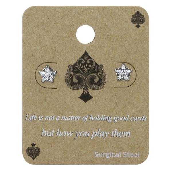 Set & Jewelry on Card CS1-SES-057-5SS/34222