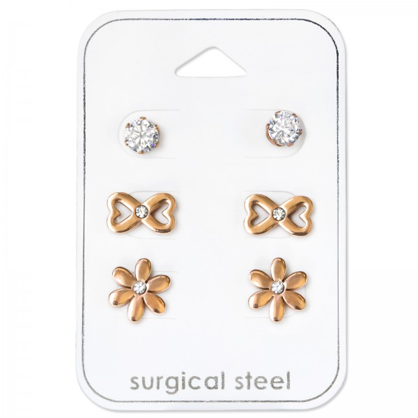 Set & Jewelry on Card SES-055-5RGD/SES-565-RGD/SES-589-RGD/34514