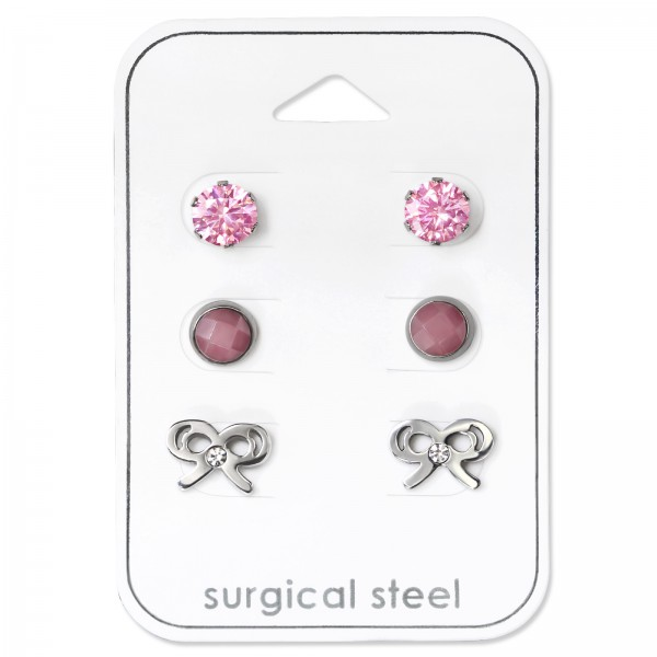 Set & Jewelry on Card SES-055-6SS/SES-634-5SS-S-FC/SES-522-SS/34507