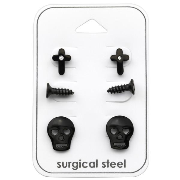 Set & Jewelry on Card SES-570-BK/SES-609-BK/SES-466-BK/33380